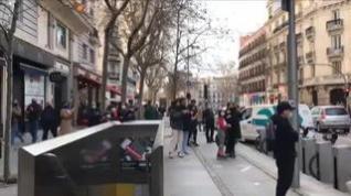 Espectacular persecución policial en pleno centro de Madrid