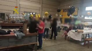 Disuelven dos fiestas y un botellón en San Mateo de Gállego, Zuera y La Alfranca