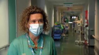 """La doctora que atendió al primer fallecido por covid: """"No reaccionaba a ningún tratamiento"""""""