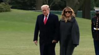 Donald Trump y su mujer se vacunaron antes de dejar la Casa Blanca