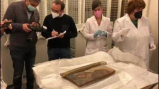 El Museo Diocesano de Barbastro-Monzón examina las piezas de arte sacro procedentes de Lérida