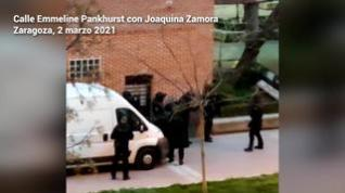 Detenido un miembro de una banda latina el barrio del Actur de Zaragoza