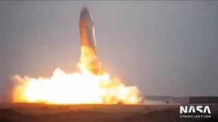 Explota el cohete de Space X tras aterrizar con éxito