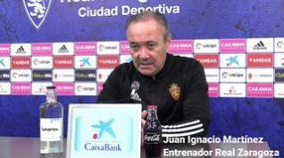 """Juan Ignacio Martínez: """"Venimos de dos adversidades y este partido es vital"""""""