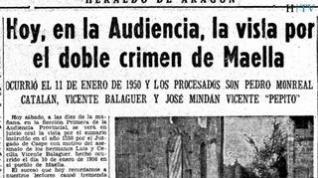 El crimen de Maella de 1950 en una investigación novelada: 'El año de la desgracia'