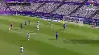 El Real Valladolid vence al Getafe (2-1)