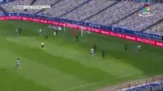 Así ha sido el gol de Álex Alegría para el Real Zaragoza