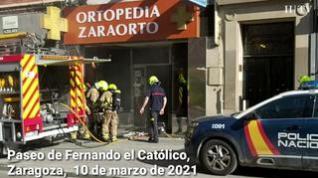 Susto en Fernando el Católico por un incendio en una tienda