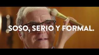 """Gobernar en serio"", lema de campaña de un Gabilondo ""soso, serio y formal"""