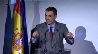"""Sánchez confirma que el 70% de la población española estará vacunada """"a finales de verano"""""""