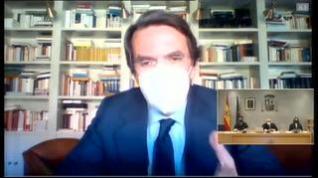 "Aznar niega la caja B del PP: ""Ni la conocía, ni la conozco"""