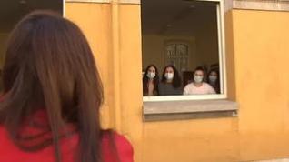 Estudiantes de medicina confinados para afrontar el examen MIR con garantías