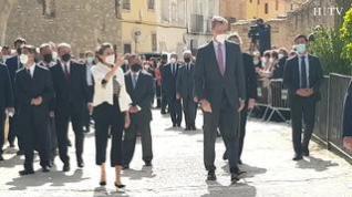 Los Reyes presiden en Fuendetodos el acto del 275 aniversario de Goya
