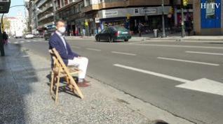 El recuerdo de las sillas de La Caridad que se utilizaban en Semana Santa