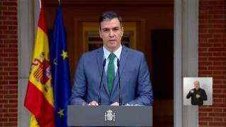 Sánchez alardea de la unidad y feminismo del Gobierno al anunciar sus ajustes