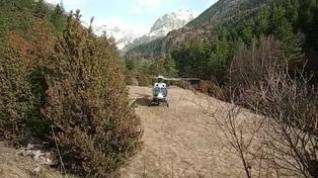 La Guardia Civil reanuda la búsqueda del montañero perdido en Sallent sin pistas sobre la ruta que tomó