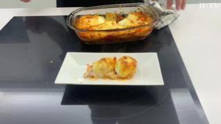 La manera más sencilla de cocinar huevos rellenos gratinados
