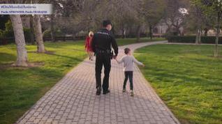 La Policía Nacional graba un vídeo para concienciar sobre el Día Mundial del autismo