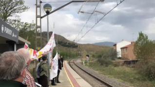 Indignación entre los vecinos del corredor ferroviario del Jalón