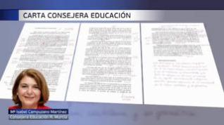 La carta de la consejera de Educación de Murcia, a examen