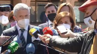 """Marlaska, en Teruel: """"No tengo ninguna intención de dimitir"""""""