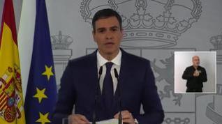 """Pedro Sánchez: """"El 70% de españoles estarán vacunados a finales de agosto"""""""