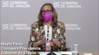 """Mayte Pérez: """"Es prematuro hablar de quinta ola"""""""