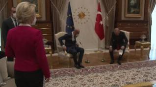 Desplante de Erdogan a Ursula von der Leyen: la deja sin asiento en una reunión oficial