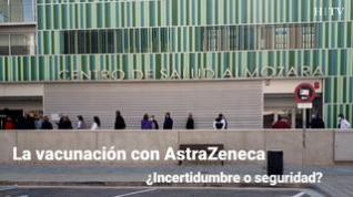 """Continúa la vacunación con Astrazeneca: """"Siento incertidumbre, pero hay que acabar con el virus"""""""