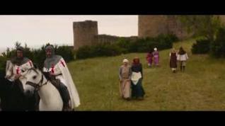 Primer tráiler de 'Los Caballeros de Santiago', rodada en Loarre y la Aljafería