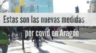 Nuevas medidas por el aumento de casos en Aragón: qué se puede hacer y qué no