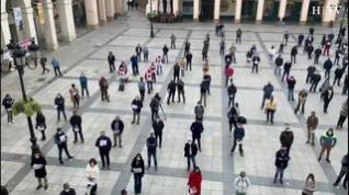 Los ganaderos de Huesca se movilizan contra la PAC