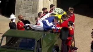 Solemne despedida de la Familia Real británica al Duque de Edimburgo