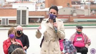"""""""Hijo, hija, hije"""", """"todas, todos, todes"""": El discurso de Irene Montero"""