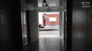 Desmontan el hospital de campaña que se instaló en la Feria de Zaragoza