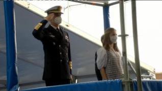 La Princesa Leonor bautiza el S-81 'Isaac Peral', uno de los más avanzados del mundo