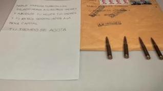 Las cartas de amenaza pueden haberse enviado desde un buzón de la calle en Madrid