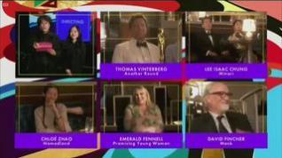 'Nomadland', triunfa en la noche de los Óscar con mejor película, dirección y actriz