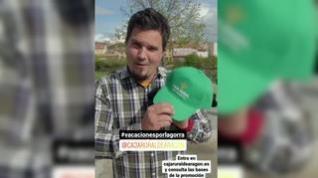 Caja Rural regala vacaciones a quien localice sus gorras escondidas en Aragón
