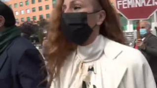 Insultan a Rocío Carrasco al llegar a los juzgados donde acudía a declarar