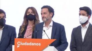"""Edmundo Bal: """"Una noche dura para el centro político, para la sensatez"""""""