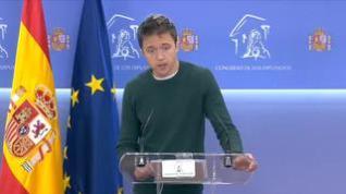 "Errejón: ""Iglesias ha sufrido un acoso personal intolerable que debe cesar de inmediato"""