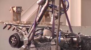 Así trabaja el robot 'limpia toallitas' en una red de abastecimiento española