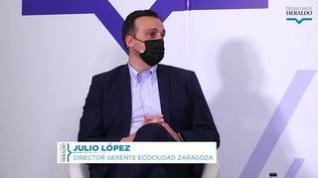 """Julio López: """"Depuramos  lo equivalente a 25.000 piscinas olímpicas al año en Zaragoza"""""""