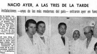 """La primera mujer que dio a luz en el hospital Materno Infantil de Zaragoza: """"¡Estrené todo!"""""""