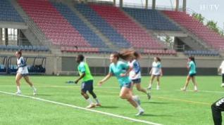 El sacrificio que supone llegar a la élite: un día con la futbolista aragonesa Nora Sánchez