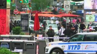 Heridas tres personas, incluida una niña de cuatro años, en un tiroteo en Times Square