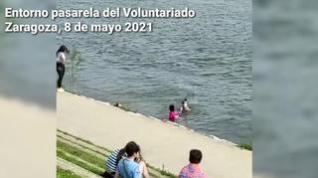 Continúa la búsqueda del joven desaparecido en el Ebro