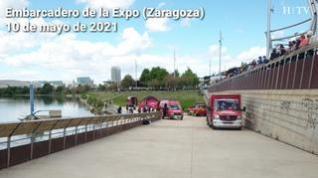 Continúan las labores de búsqueda del menor desaparecido en el Ebro