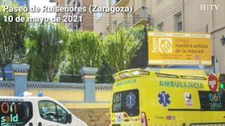 Grave accidente laboral en el colegio Nuestra Señora de la Merced en Zaragoza